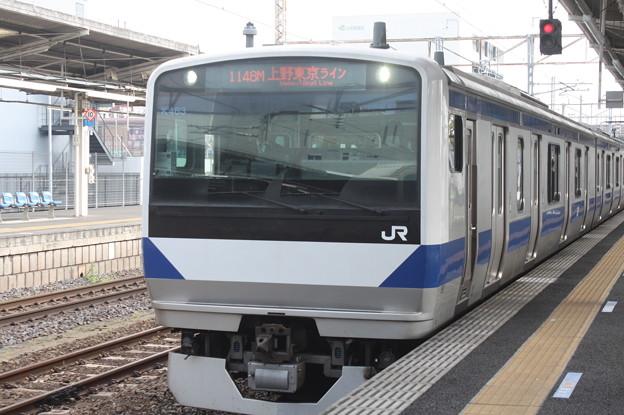 常磐線 E531系K463編成 1148M 普通 品川 行 2019.04.21 (1)