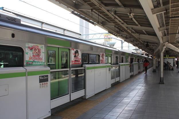 山手線 秋葉原駅2番線 ホームドア
