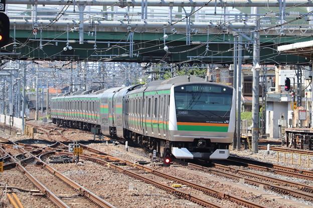 宇都宮線 E233系3000番台U620編成