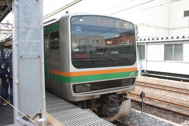 両毛線 E231系1000番台U537編成