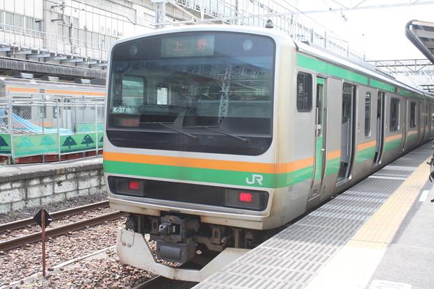 高崎線 E231系1000番台K-37編成