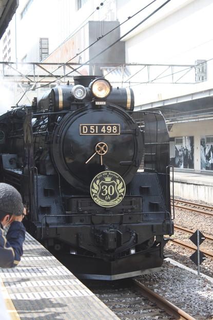 信越本線 SLレトロぐんまよこかわ 9135レ D51 498 (1)