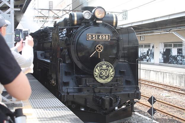 信越本線 SLレトロぐんまよこかわ 9135レ D51 498 (3)