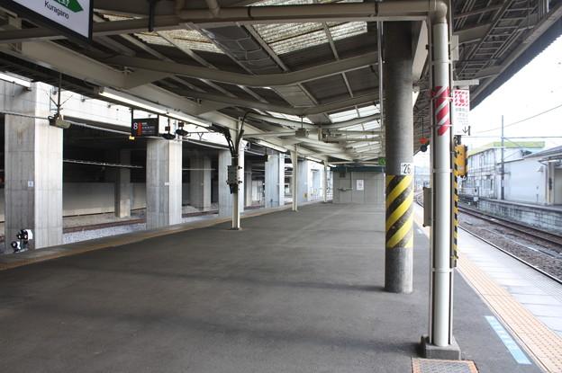 高崎駅7番線・8番線ホーム