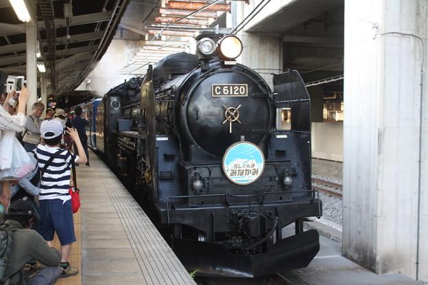 C61 20 SLぐんまみなかみ @高崎駅