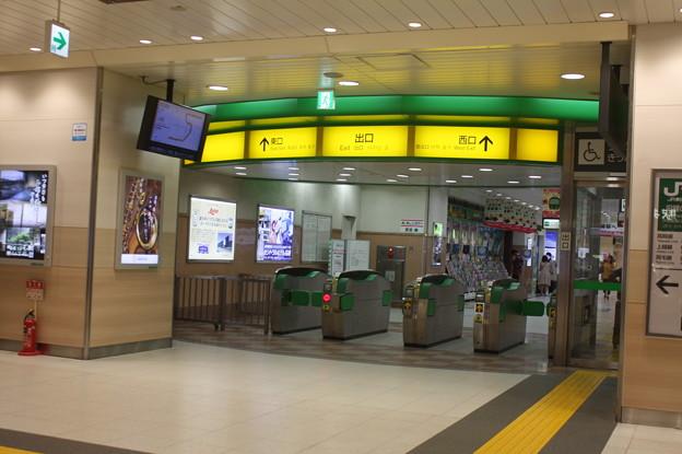 高崎駅新幹線改札口