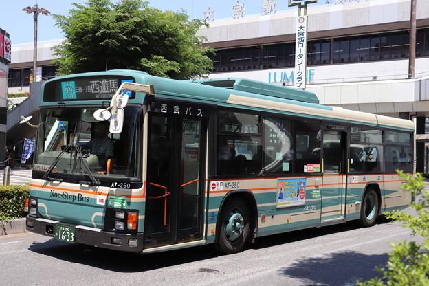 西武バス A7-250 大23系統 三橋一丁目 経由 西遊馬 行き