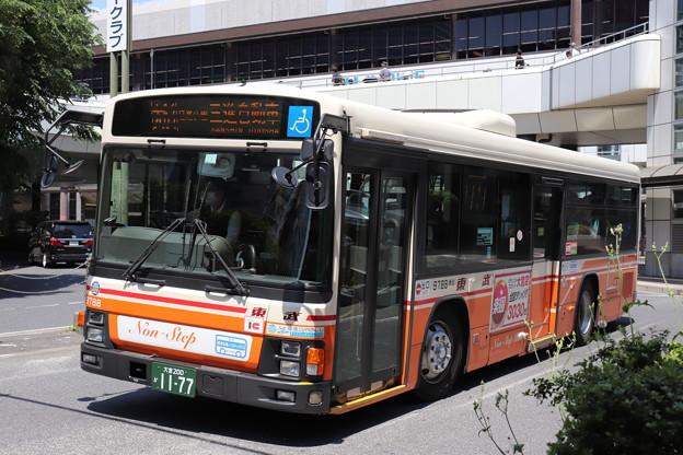東武バス 9788号車 大61系統 日進公園 経由 三進自動車 行き (1)