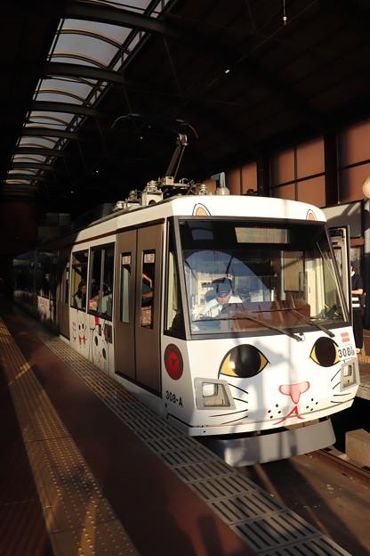 東急世田谷線 300系308F 招き猫電車 (2)