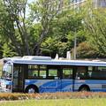 Photos: 関東鉄道 1990MT 県庁・県庁バスターミナル 行き (1)