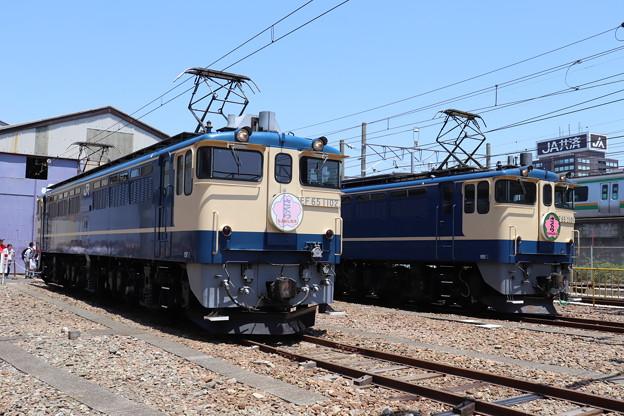 EF65 1102・EF65 2101 「さくら」ヘッドマーク (2)