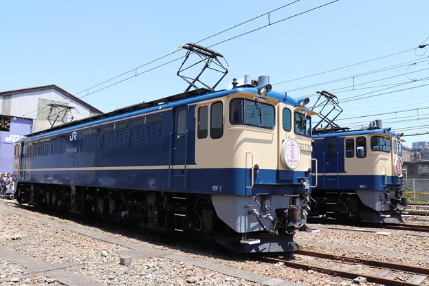 Photos: EF65 1102・EF65 2101 「さくら」ヘッドマーク (4)