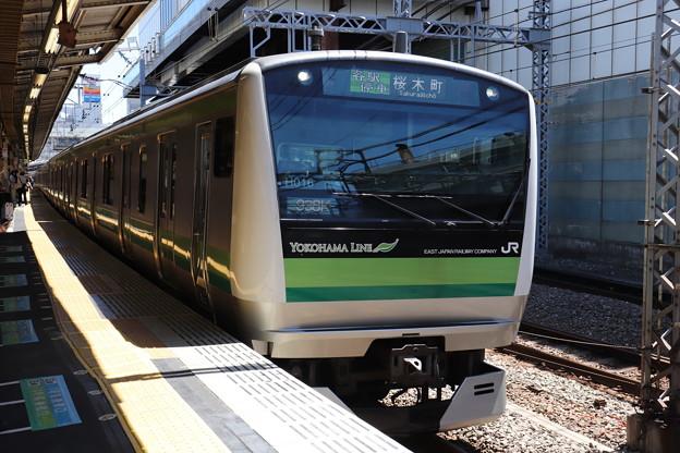 横浜線 E233系6000番台クラH016編成