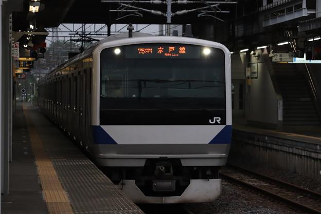 水戸線 E531系K474編成 759M 普通 友部 行 2019.07.22