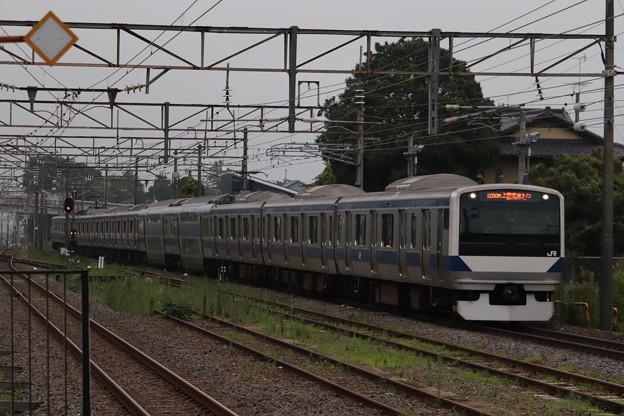 常磐線 E531系K425編成 1250M 普通 品川 行 2019.07.22