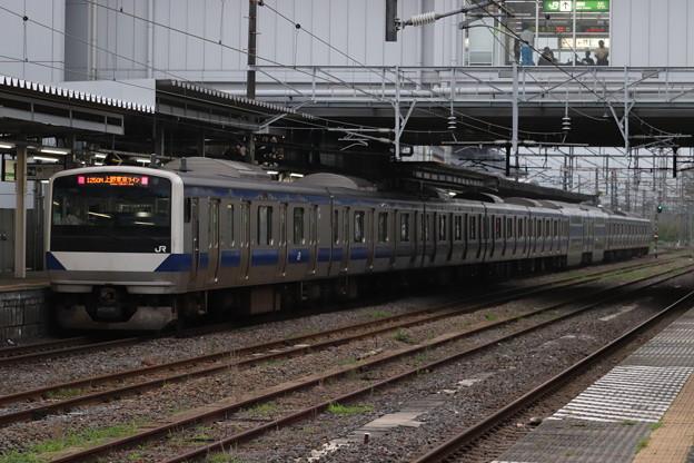 常磐線 E531系K425編成 1250M 普通 品川 行 後追い 2019.07.22