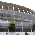 Photos: 建設中の新国立競技場
