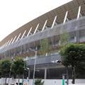 建設中の新国立競技場 (4)
