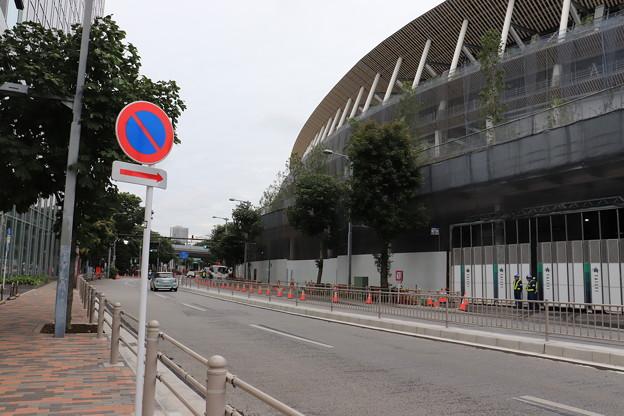 建設中の新国立競技場 (6)