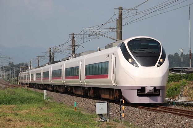 常磐線 E657系K13編成 51M 特急ときわ51号 高萩 行 2019.08.03