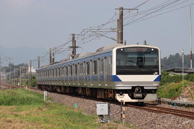 水戸線 E531系K475編成 731M 普通 勝田 行 2019.08.03