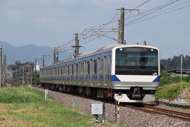 常磐線 E531系K477編成 731M 普通 勝田 行 2019.08.04