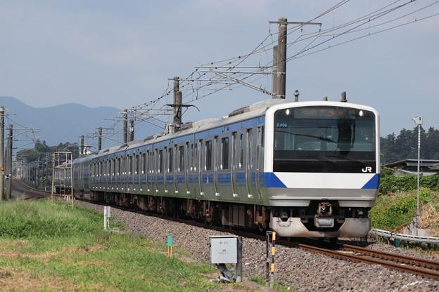 常磐線 E531系K408編成 331M 普通 勝田 行 2019.08.04