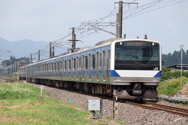 常磐線 E531系K412編成 1135M 普通 勝田 行 2019.08.04