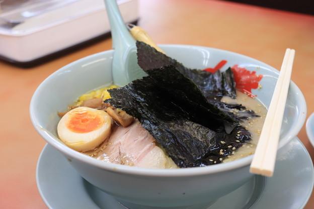 Photos: ラーメン山岡家 塩ラーメン メンマ・コーン トッピング