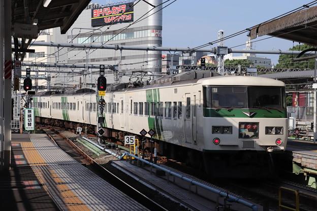 上野東京ライン 185系A1編成 踊り子
