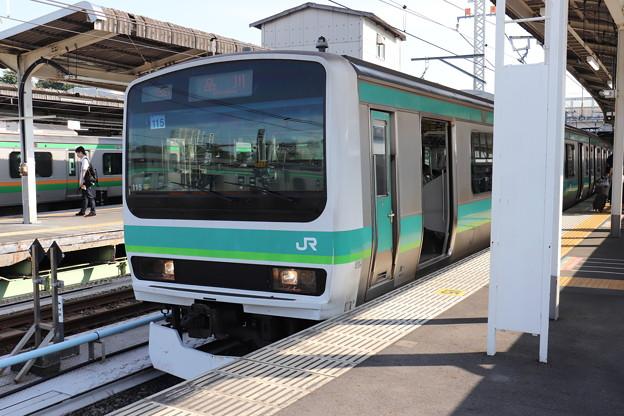 上野東京ライン E231系マト115編成