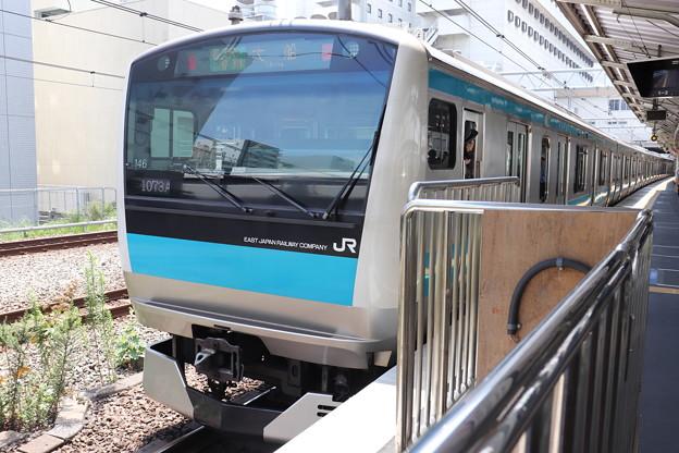 京浜東北線 E233系1000番台サイ146編成 (1)