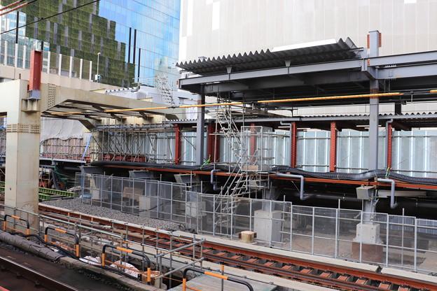 建設中の埼京線渋谷駅新ホーム (1)