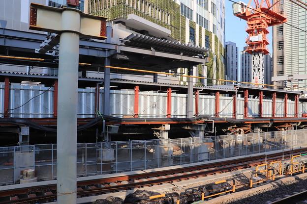 建設中の埼京線渋谷駅新ホーム (2)