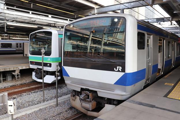 東海道線 E231系マト123編成・E531系K471編成 (1)