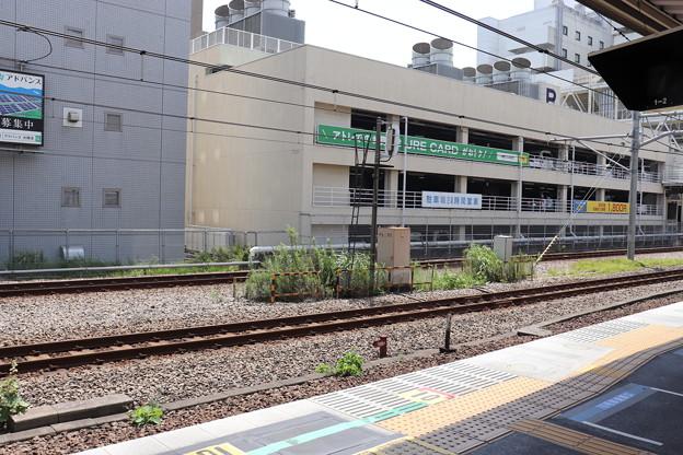 ホームドア設置前の京浜東北線大森駅構内