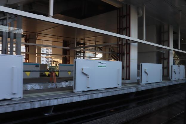 建設中の高輪ゲートウェイ駅 (2)