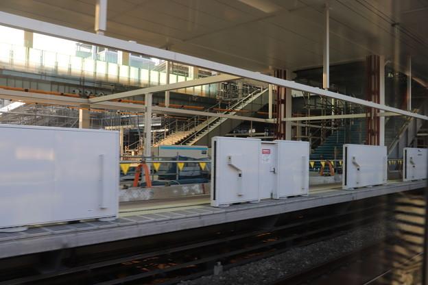 建設中の高輪ゲートウェイ駅 (3)