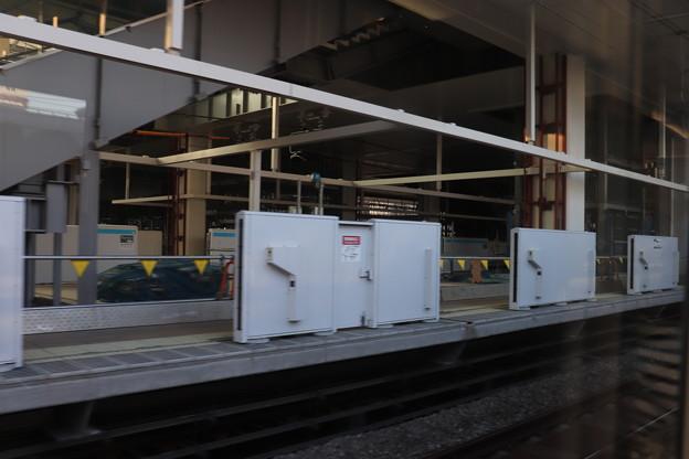 建設中の高輪ゲートウェイ駅 (4)