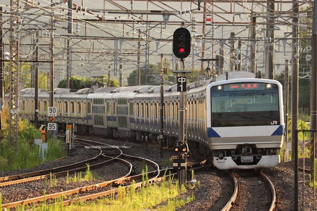 常磐線 E531系K422編成 399M 普通 勝田 行 2019.08.05