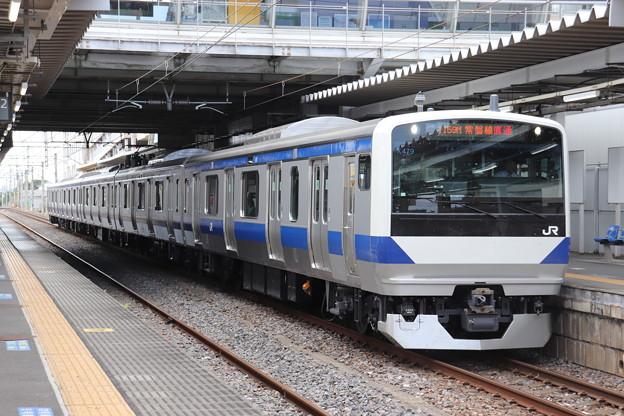 常磐線 E531系K479編成 1159M 普通 勝田 行 2019.08.13