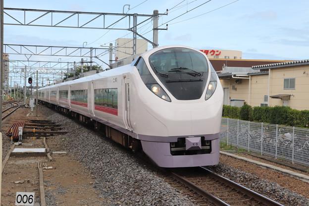 常磐線 E657系K3編成 74M 特急ときわ74号 品川 行 2019.08.13