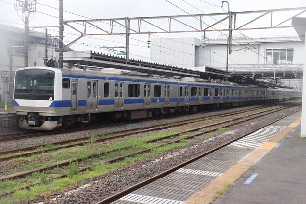 常磐線 E531系K419編成 1150M 普通 品川 行 2019.08.15