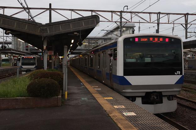 Photos: 常磐線 E531系K401編成 399M 普通 勝田 行 2019.08.28 (1)