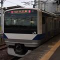水戸線 E531系3000番台K555編成 764M 普通 小山 行 2019.08.28 (1)
