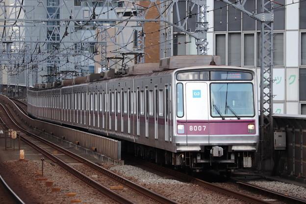 東急田園都市線 東京メトロ8000系8107F