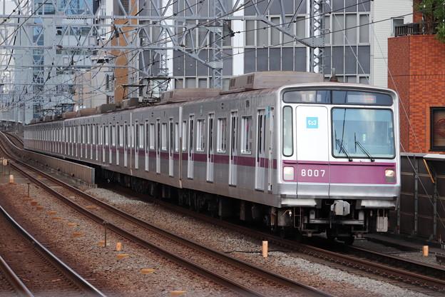 東急田園都市線 東京メトロ8000系8107F (1)