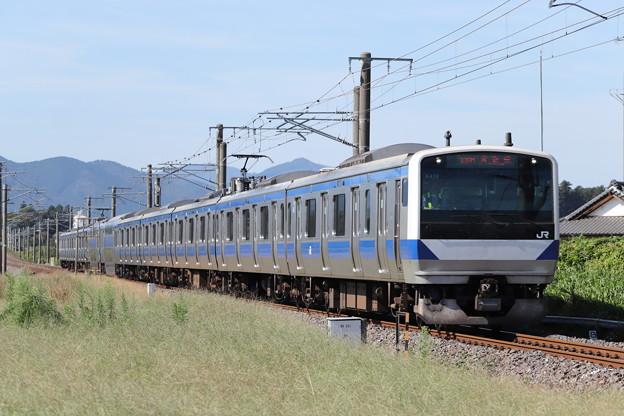 常磐線 E531系K419編成 339M 普通 勝田 行 2019.10.05