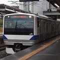水戸線 E531系K474編成 744M 普通 小山 行 2019.10.12