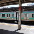 Photos: 常磐快速線 E231系 上野駅停車中